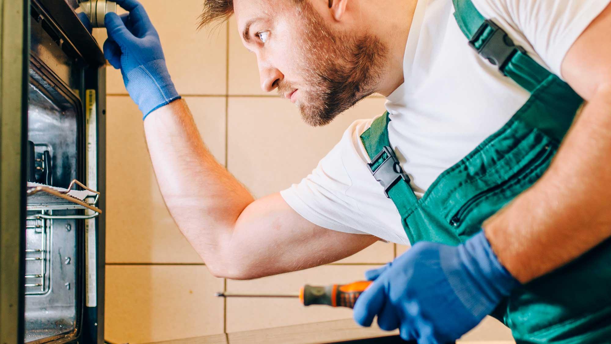 montaggio forno cucina